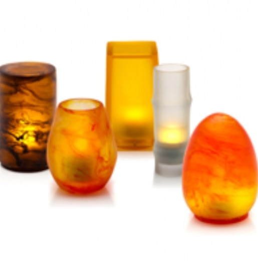 Resin Candle Holders M
